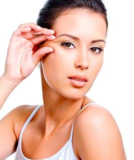 Как убрать гусиные лапки возле глаз?
