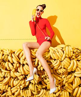 Маска из бананов от морщин