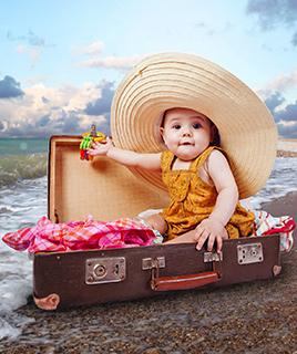 Можно ли ехать на море с грудным ребенком?