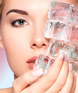 Как сделать косметический лед в домашних условиях?