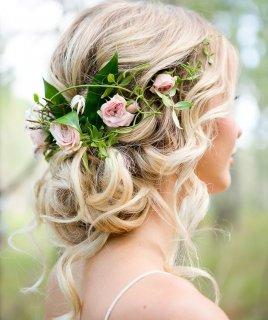 Лучшие свадебные прически